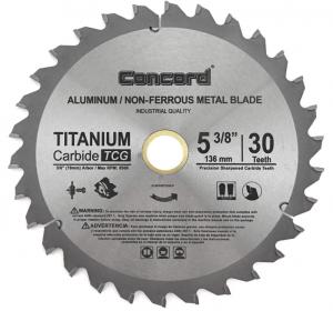 Concord Blades - Metal Cutting Circular Saw Blades