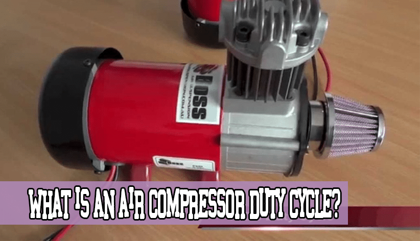 What is an Air Compressor Duty Cycle?