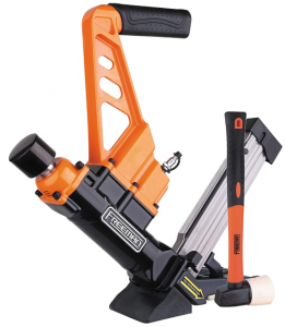 Freeman PDX50C Lightweight Pneumatic 3-in-1 Flooring Nailer and Stapler
