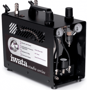 Iwata-Medea IS-972 Studio Series Power Jet Pro Airbrush Compressor