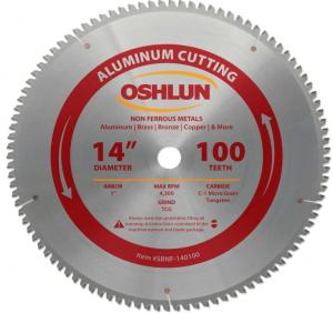 Oshlun Sbnf - Aluminum Chop Saw Blade