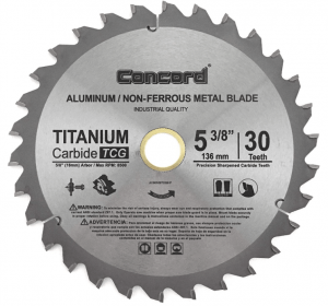 Concord Blades - Metal Cutting Circular Saw Blades