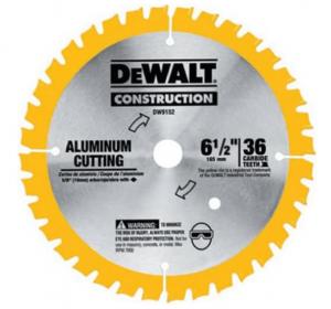 Dewalt 6-1/2-Inch - Aluminum Cutting Tools