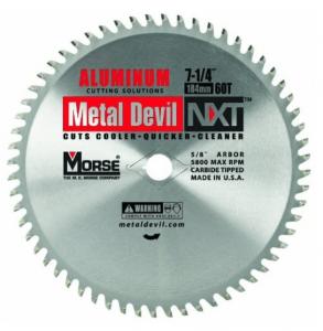 MK Morse CSM72560NAC Metal Devil Circular Saw