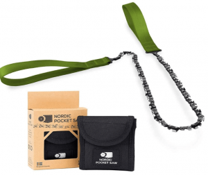 Nordic Pocket Saw Survival Chainsaw