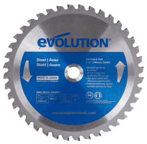 Evolution Power Tools 185BLADEST Steel Cutting Saw Blade
