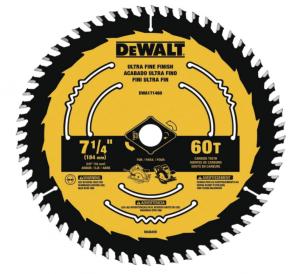 """Dewalt 7-1/4"""" Circular Saw Blade"""