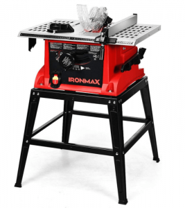 Goplus Table Saw, 10-Inch 15-Amp Portable Table Saw