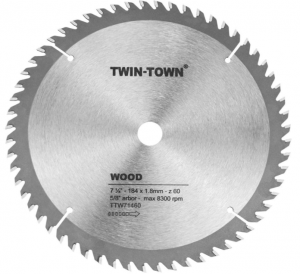 Twin-Town 7-1/4-Inch Saw Blade