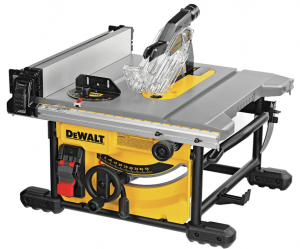 Dewalt Table Saw For Jobsite, Compact