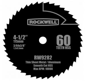 Rockwell RW9282 - Great Circular Saw Blade For MDF