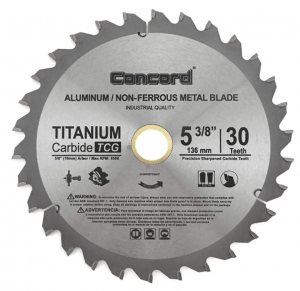 Concord Blades - Best Circular Saw Blade For Wood