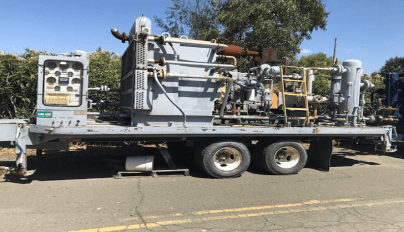 Can An Air Compressor Be Transported On Its Side